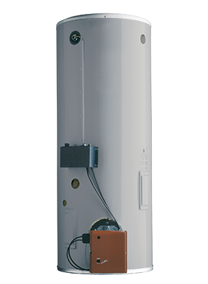 COF commercial gas/oil forced draft water heater   A.O. Smith