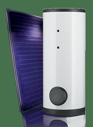IT indirect zonnesysteem is een indirecte boiler met 1 warmtewisselaar die geschikt is voor vrijwel alle toepassingen zoals de SGS zonne-gasboiler van A.O. Smith. Daarnaast kan de IT gebruikt worden om een reeds bestaand systeem uit te breiden met thermische zonne-energie.