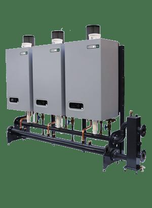 Cascadesysteem Upsilon cascade boiler system