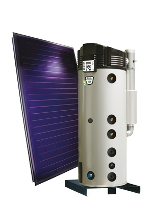 SGE zonne gasboiler thermisch zonnesysteem