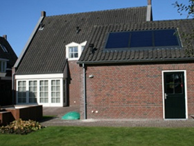 Indirect zonnesysteem woonhuis